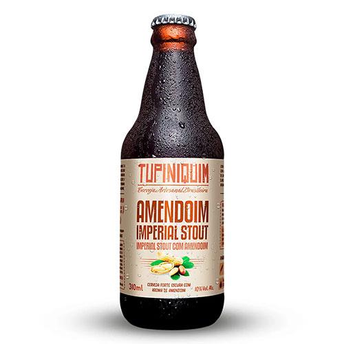 Cerveja Tupiniquim Amendoim RIS Garrafa 310ml