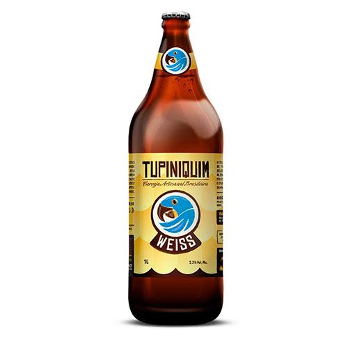 Cerveja Tupiniquim Weiss Garrafa - Litrão