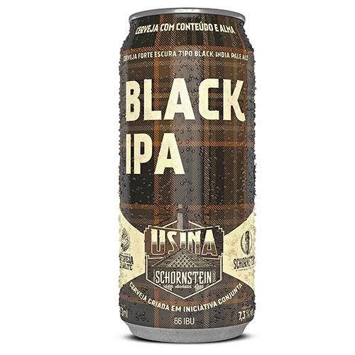 Cerveja Schornstein Black IPA Lata 473ml