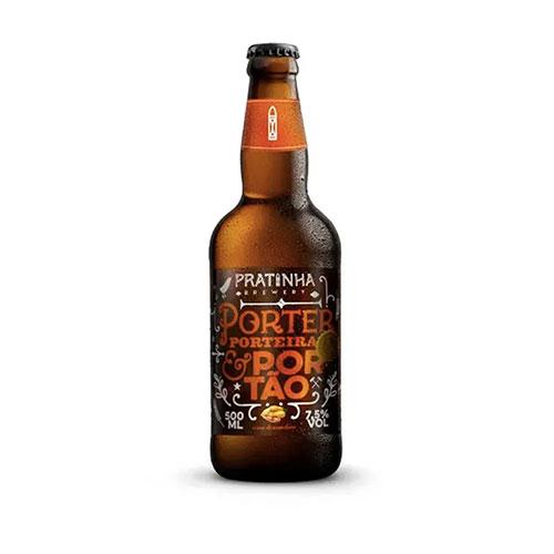 Cerveja Pratinha Porter Porteira e Portão 500ml