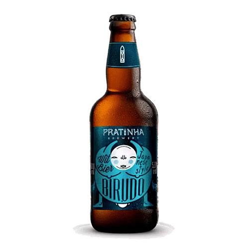 Cerveja Pratinha Birudô Witbier 500ml