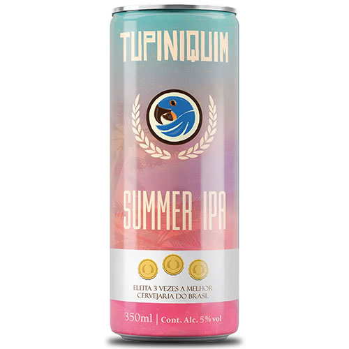 Cerveja Tupiniquim Summer IPA Lata 350ml