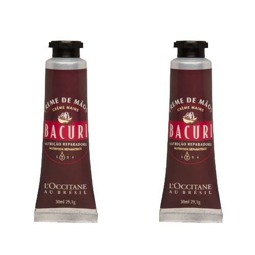 2 Cremes Hidratante para Mãos Bacuri 30ml - L'Occitane au Brésil