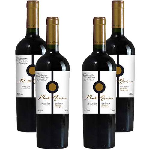 4 Vinhos Punto Máximo Gran Reserva Cabernet Sauvignon 750ml