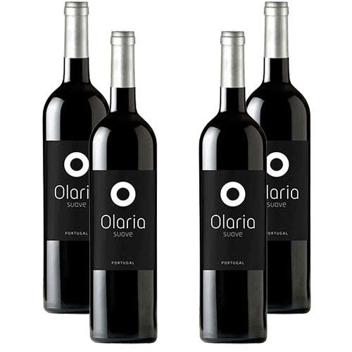 4 Vinhos Olaria Tinto 750ml