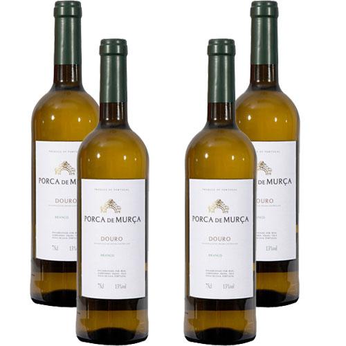 4 Vinhos Porca de Murça Douro Branco 750ml
