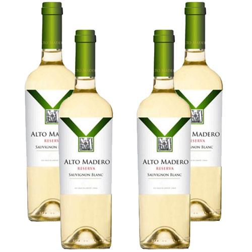 4 Vinhos Alto Madero Reserva Sauvignon Blanc 750ml