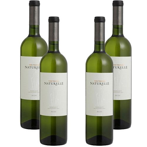 4 Vinhos Casa Valduga Naturelle Branco Suave 750ml