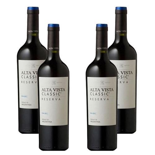 4 Vinhos Alta Vista Classic Reserva Malbec 750ml