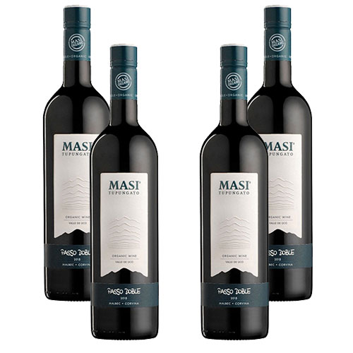 4 Vinhos Masi Tupungato Passo Doble 750ml