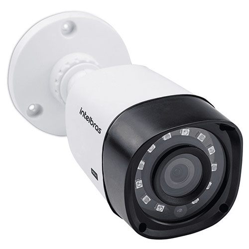 Câmera Infravermelho Bullet Multi HD Branca - Intelbras