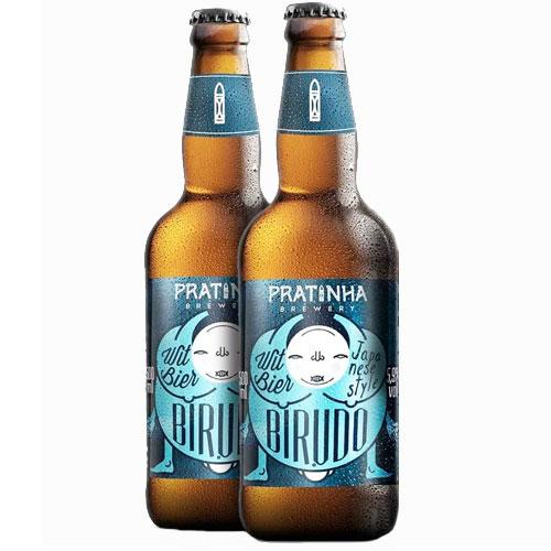 Pack 2 Cervejas Pratinha Birudô Witbier 500ml