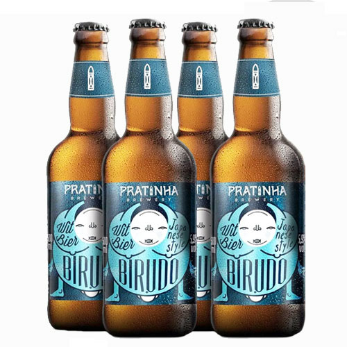 Pack 4 Cervejas Pratinha Birudô Witbier 500ml