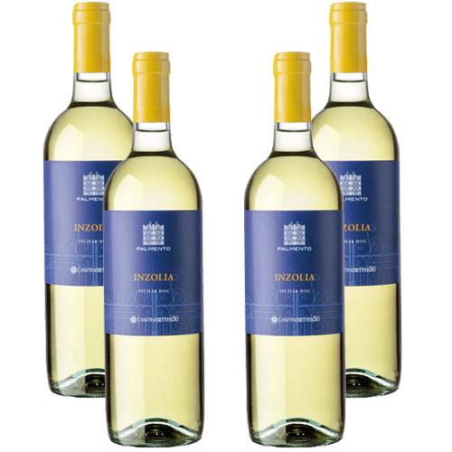 4 Vinhos Palmento Inzolia D.O.C. 750ml