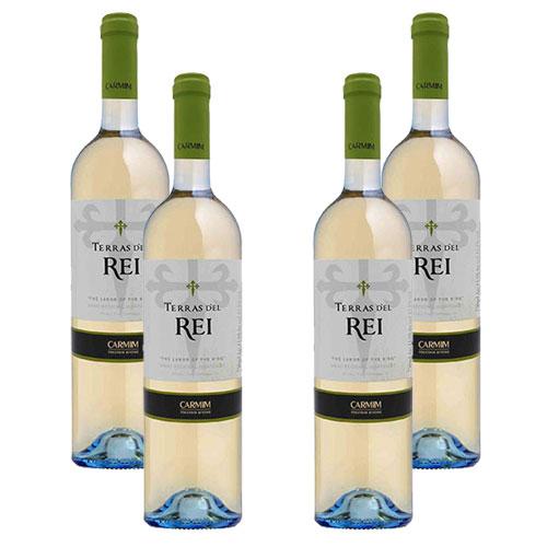 4 Vinhos Terras D'el Rei Alentejano Branco 750ml