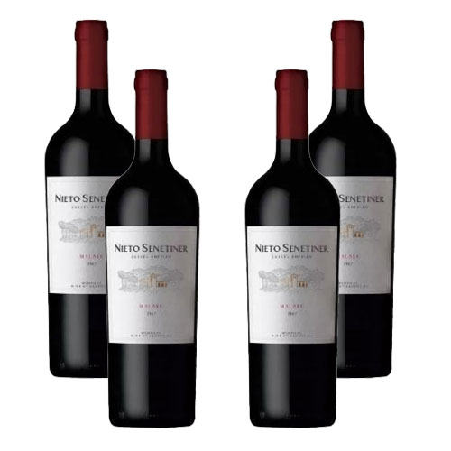 4 Vinhos Nieto Senetiner Reserva Malbec 750ml