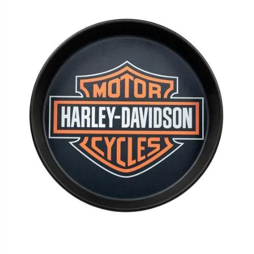Bandeja em Aluminio Harley Davidson Black - Alumiart Falcão