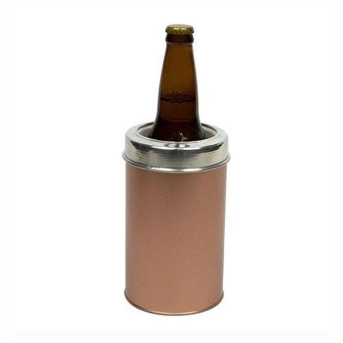 Porta Garrafa em Aço Inox Rose Gold - Alumiart Falcão