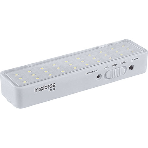 Luminária de Emergência Autônoma Branca - Intelbras