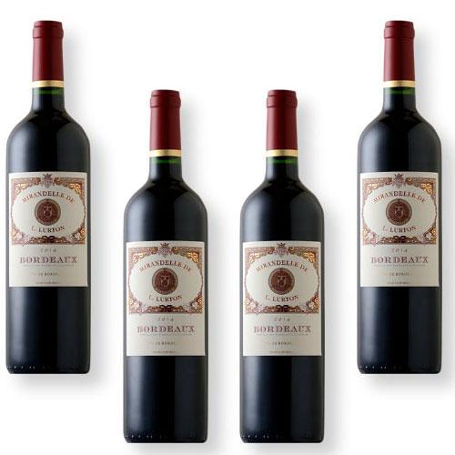 4 Vinhos Mirandelle de L. Lurton Red 750ml