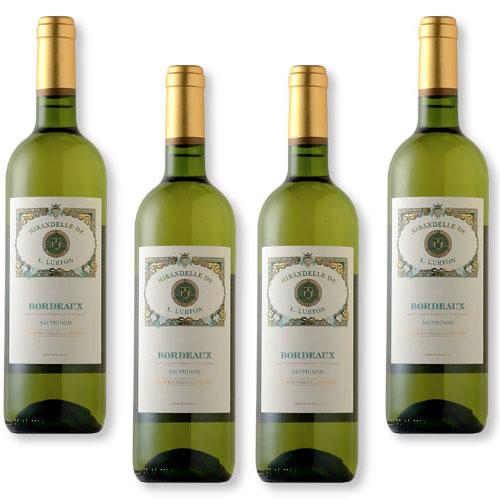 4 Vinhos Mirandelle de L. Lurton White 750ml