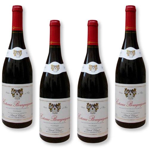 4 Vinhos Patrick Clerget Coteaux Bourguignons AOP 750ml