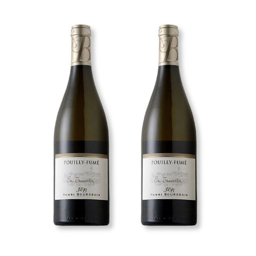 2 Vinhos Henri Bourgeois Pouilly-Fume en Travertin 750ml