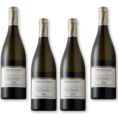 4 Vinhos Henri Bourgeois Pouilly-Fume en Travertin 750ml
