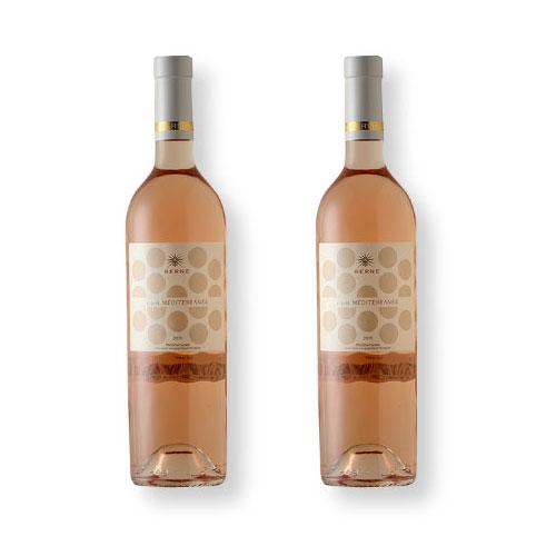 2 Vinhos Berne Esprit Méditerranée IGP 750ml