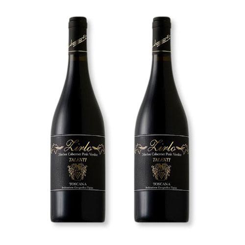 2 Vinhos Talenti Zirlo Rosso di Toscana 750ml