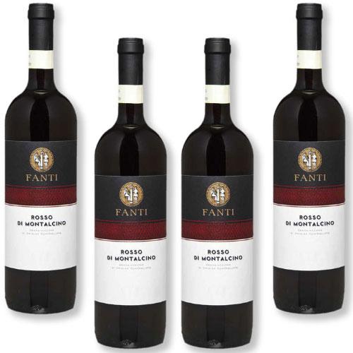 4 Vinhos Fanti Rosso di Montalcino DOC 750ml