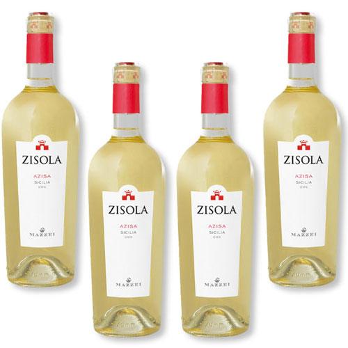 4 Vinhos Mazzei Zisola Azisa 750ml