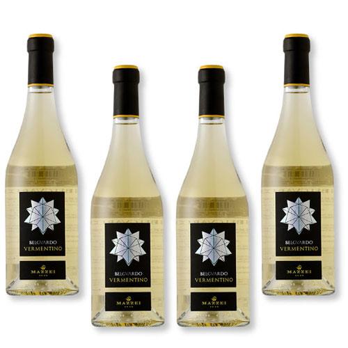 4 Vinhos Mazzei Belguardo Vermentino Toscana Bianco IGT 750ml