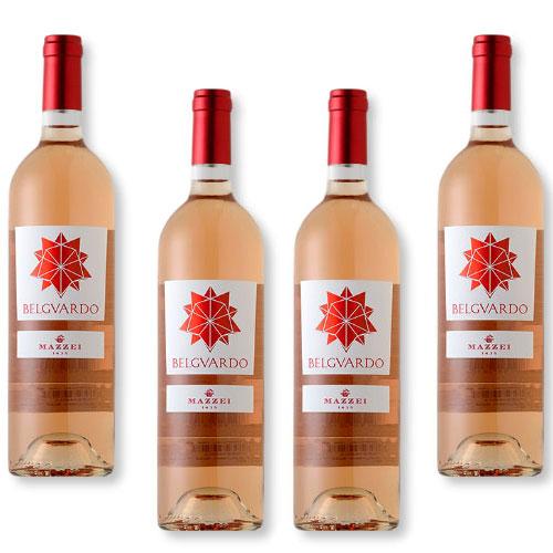 4 Vinhos Mazzei Belguardo Rose Toscana IGT 750ml