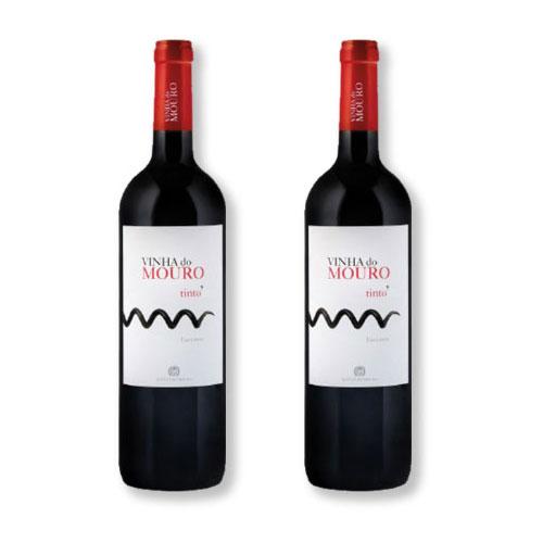 2 Vinhos Vinha do Mouro Tinto 750ml