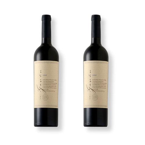 2 Vinhos Escorihuela Familia Gascón Syrah 750ml