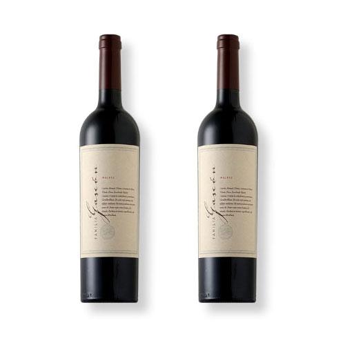 2 Vinhos Escorihuela Familia Gascón Malbec 750ml