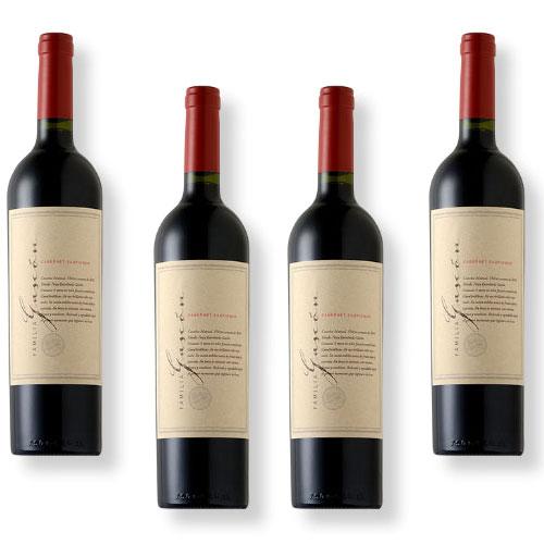 4 Vinhos Escorihuela Familia Gascón Cabernet Sauvignon 750ml