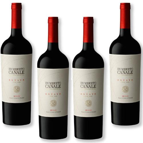 4 Vinhos Humberto Canale Estate Merlot 750ml