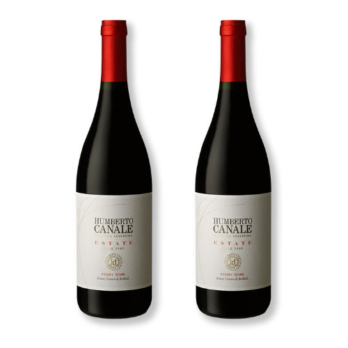 2 Vinhos Humberto Canale Estate Pinot Noir 750ml