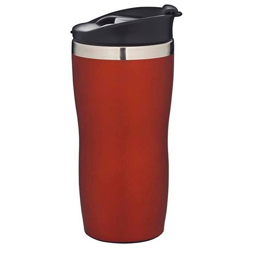 Copo Aço Inox Coffee To Go Laranja 450ml - Mor