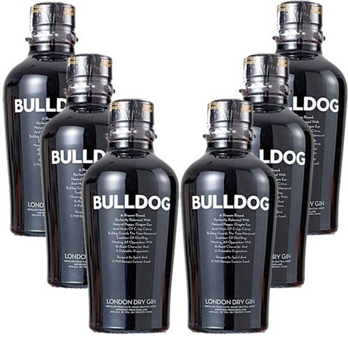 6 Gins Bulldog 750 ml