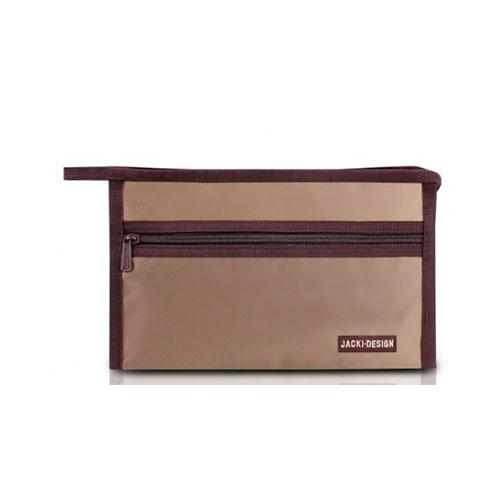 Nécessaire Feminina Essencial Envelope Marrom - Jacki Design
