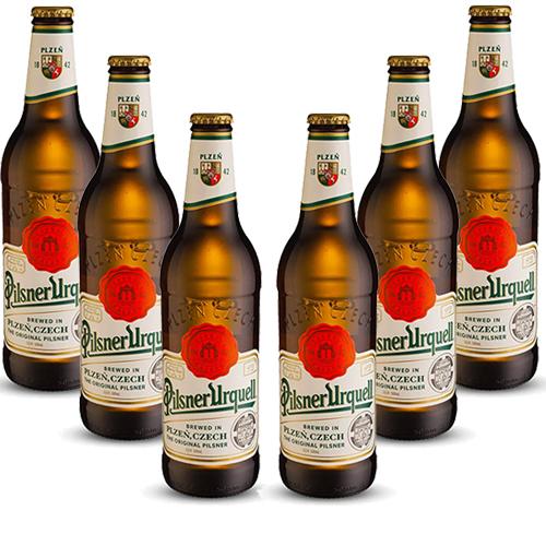 Pack 6 Cervejas Pilsner Urquell 500ml