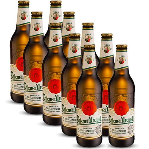 Pack 10 Cervejas Pilsner Urquell 500ml