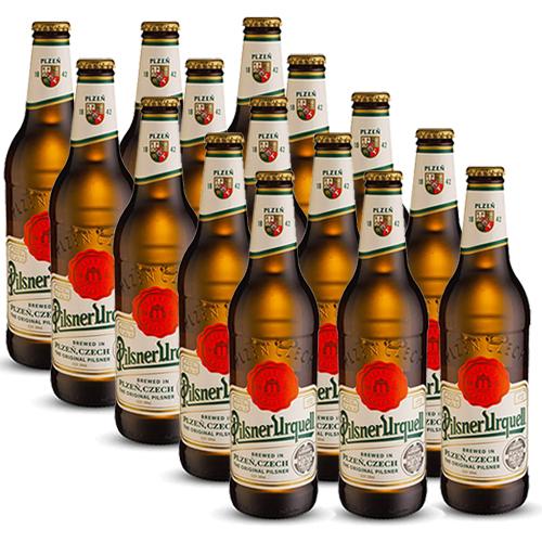 Pack 15 Cervejas Pilsner Urquell 500ml