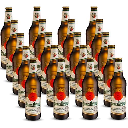 Pack 20 Cervejas Pilsner Urquell 500ml
