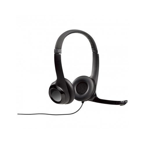 Headset Estéreo USB Digital H390 Preto - Logitech