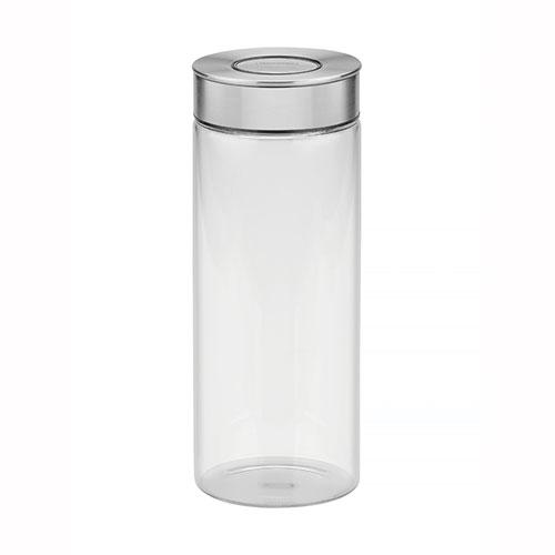 Pote de Vidro com Tampa de Aço Inox Purezza 1,8L - Tramontina