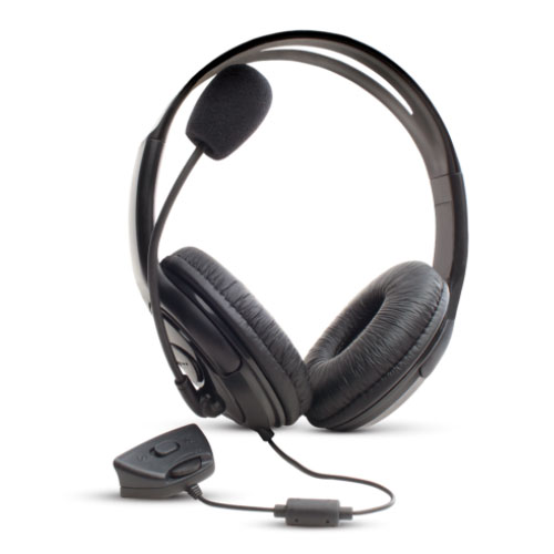 Headset Gamer Black para Xbox 360 Preto - Dazz